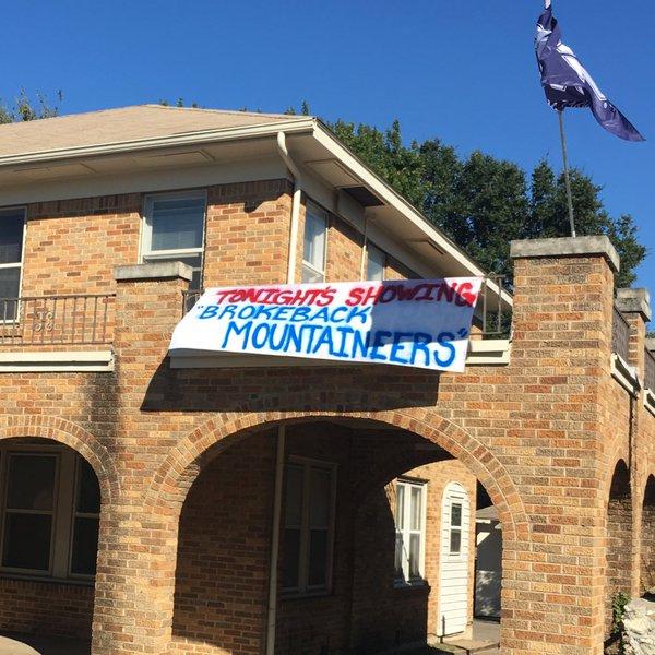UPDATE: Homophobic banner near TCU removed