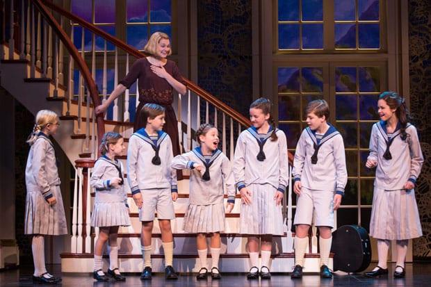 Do-Re-Mi-(Kerstin-Anderson-as-'Maria-Rainer'-&-the-von-Trapp-children)-by-Matthew-Murphy-2