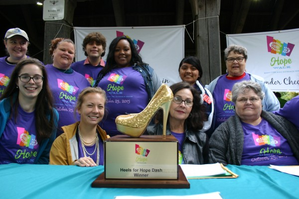 Scenes from AIDS Outreach Center's HopeWalk