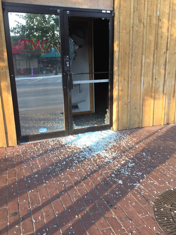 UPDATE: JR's, TMC's and Woody's doors smashed over night
