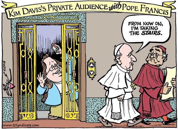 Editorial Cartoon • 10-09-15