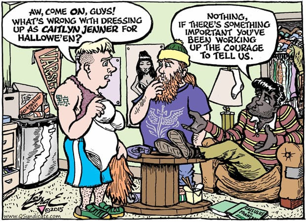 Editorial Cartoon • 10-30-15