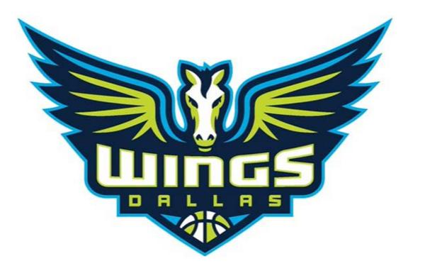Dallas Wings Pride Night promo