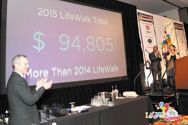 LifeWalk breaks fundraising total