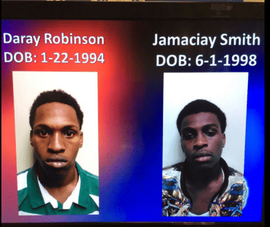 Two suspects connected to Katy Trail robberies arrested