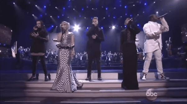 WATCH: Attention nerds! Gay-fronted Pentatonix does 'Star Wars' at the AMAs