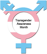 Trans Awareness Logo. INSET size