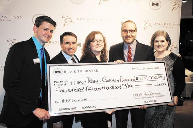 Black Tie distributes $1 million-plus