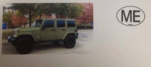 Hawke's Jeep