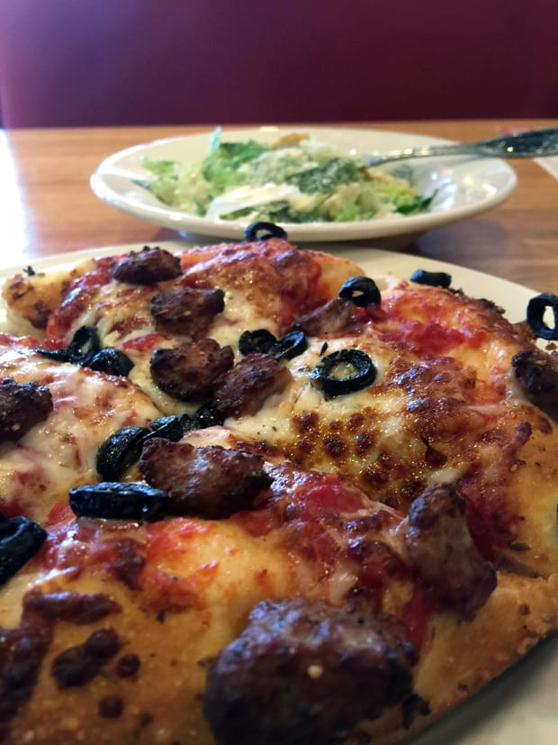 Drive-by tasting: Old Chicago Pizza