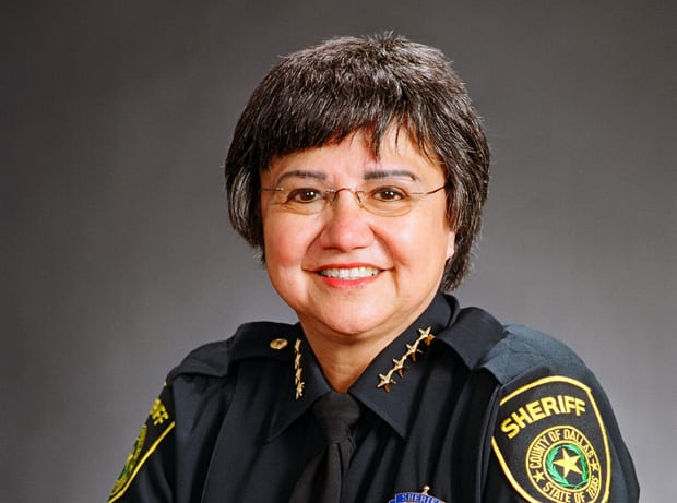 Dallas County Sheriff Lupe Valdez to resign, run for governor