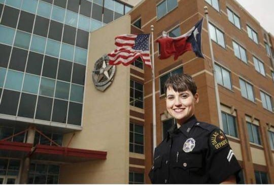 Lesbian named Dallas police officer of the year