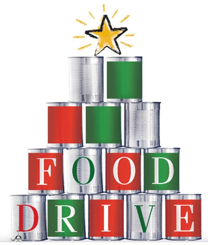 Iamge of the Food Drive logo.
