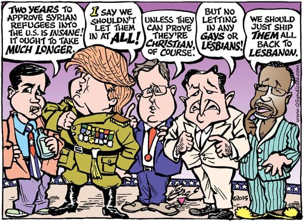 Editorial Cartoon • 12-04-15