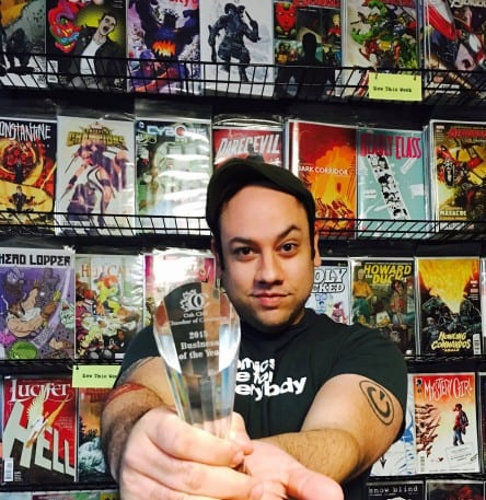 Gay-owned Red Pegasus comic shop named Business of the Year