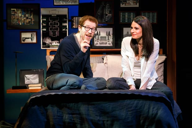 Anthony-Rapp-&-Jackie-Burns-in-IF-THEN---Photo-by-Joan-Marcus