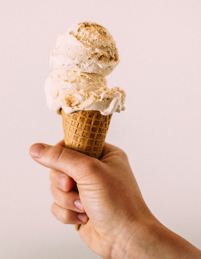 Recipe: Cider caramel ice cream swirl