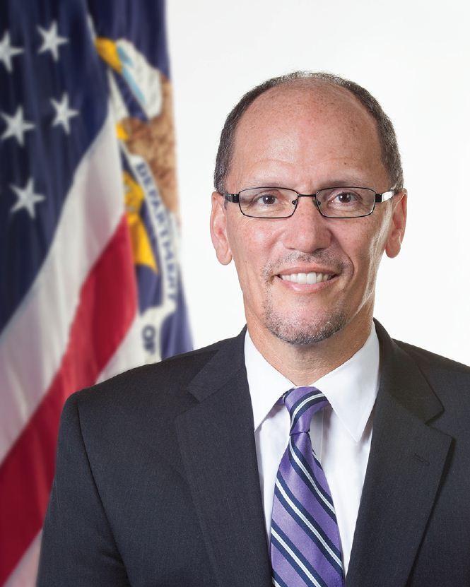 Secretary of Labor Thomas Perez to speak at Creating Change next week
