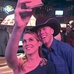 Valerie-and-JD-pose-for-a-selfie-at-Round-Up-Saloon