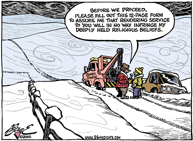 Editorial Cartoon • 01.08.16