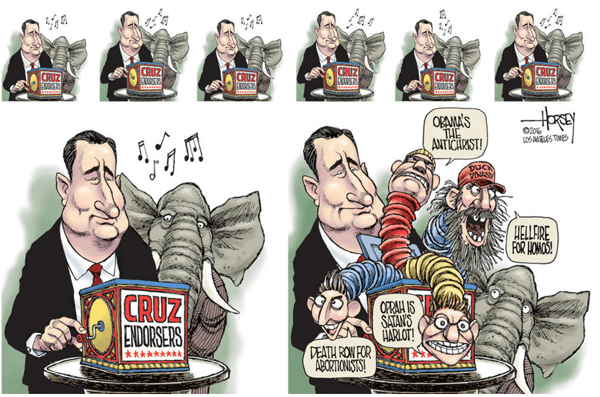 Ted Cruz and his loony friends