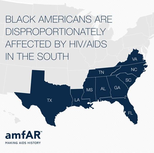 amfAR GRAPHICS: HIV among gay black men