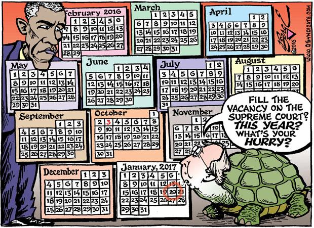 Editorial Cartoon • 02.19.16