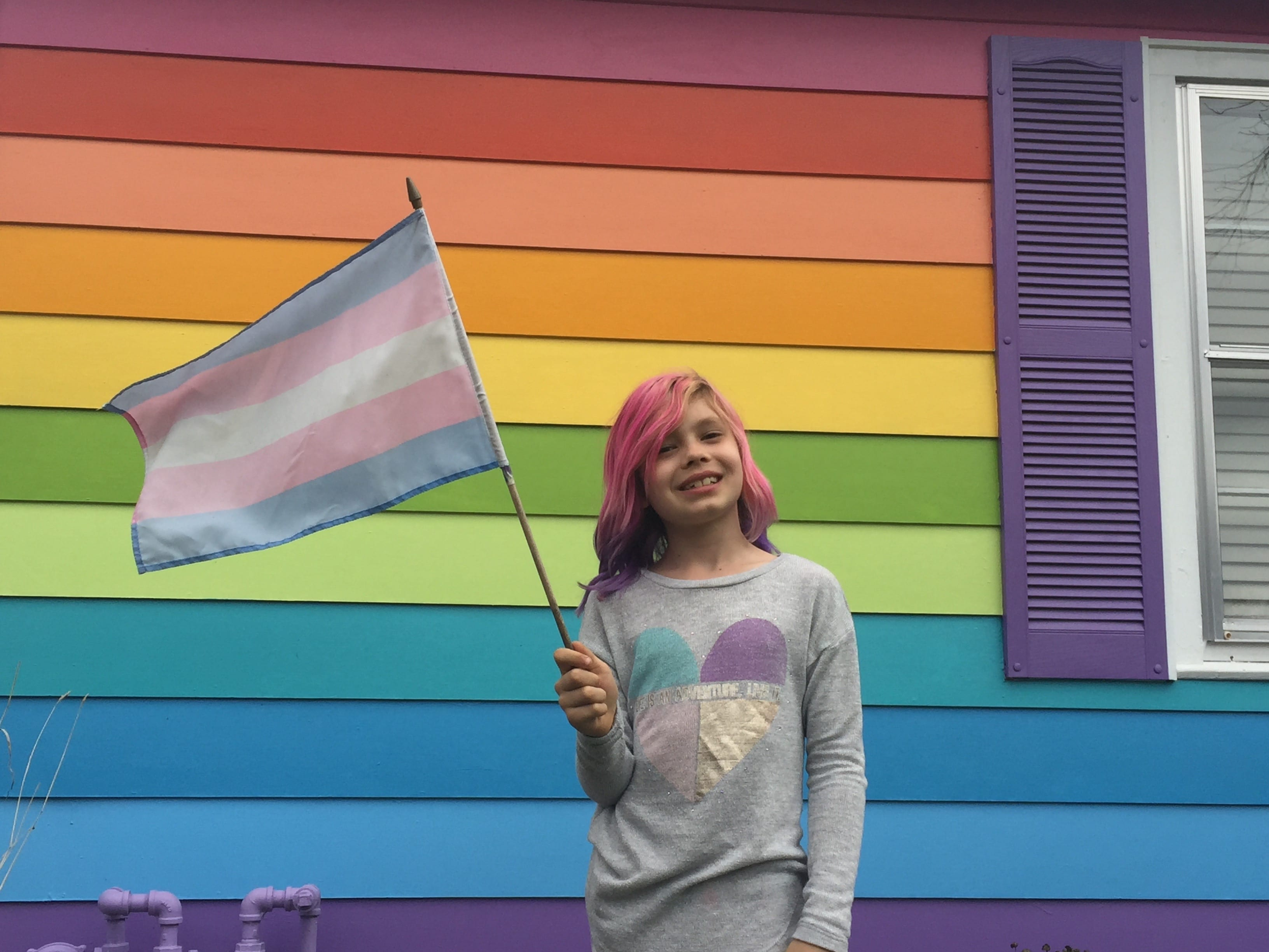 Eight-year old transgender activist wants to purchase house across from Westboro