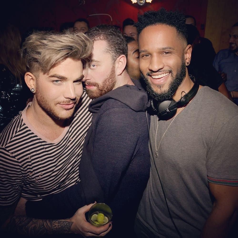 Sam and Adam … and DJ Dawson!