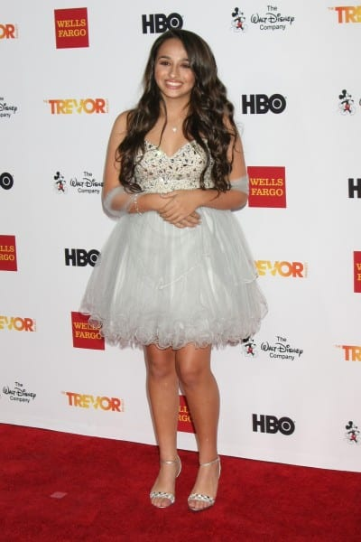 LOS ANGELES - DEC 6:  Jazz Jennings at the TrevorLIVE Gala at th