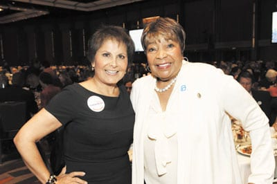 Dallas-luncheon-Gloria-Campos-and-Eddie-Bernice-Johnson