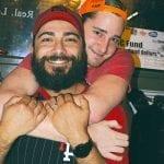 Eagle--friends-hugging
