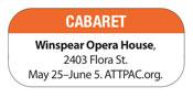Cabaret-info