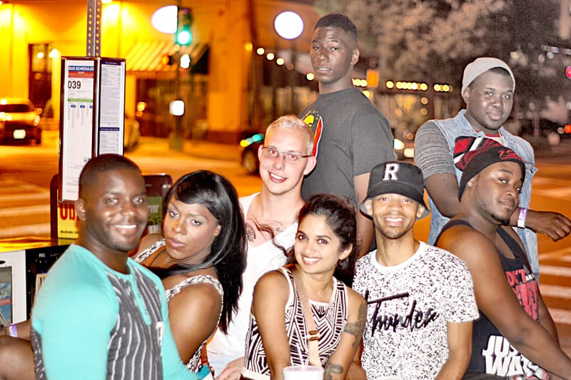 On-the-block---Group-night-out