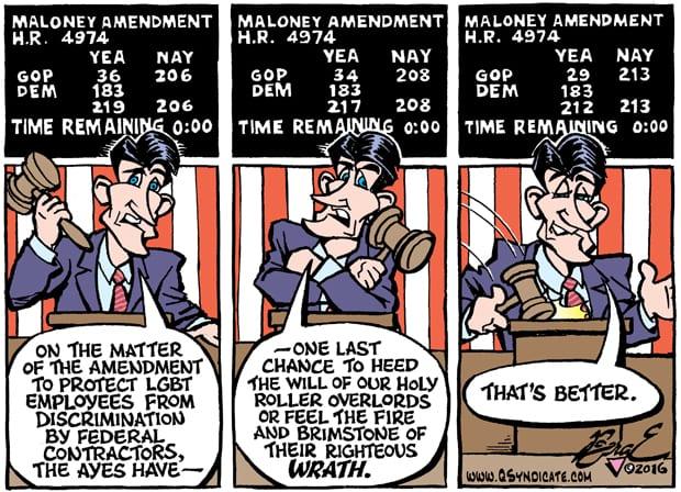Editorial Cartoon • 05.27.16