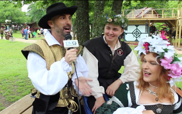 DVtv: Stepping in back in time for fun at Scarborough Renaissance Festival