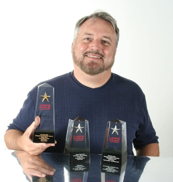 Jones, Russell win in Houston Press Club's Lone Star Awards