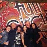 Full-Circle-Tavern-3rd-Anniversary-Party-(L-R)Victoria-Lee,-Jacques-Bares,-Helen-Smith,--Lara-Whittington,-John-Thompkins,-Jennifer-Bonner