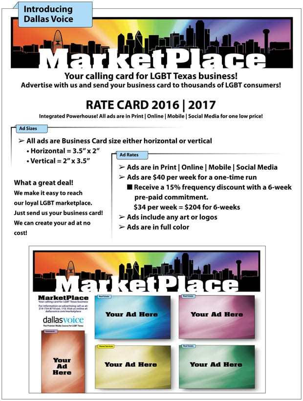 MarketPlace-Rate-Card