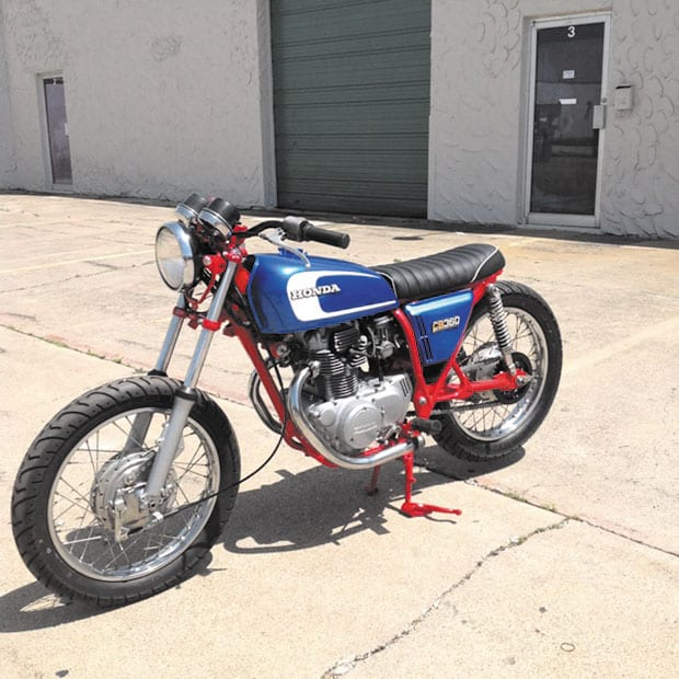 Raffle for vintage motorcycle to benefit Bryan's House