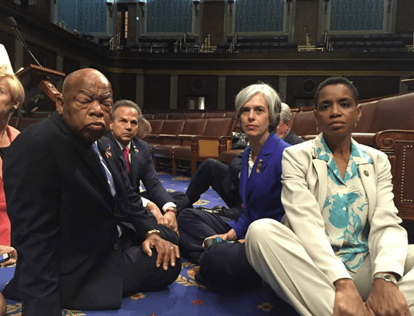 Congressman John Lewis calls on House leadership to bring gun reform vote to the floor