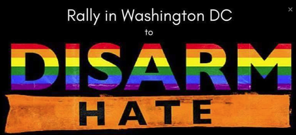 D.C. rally planned to 'Disarm Hate'