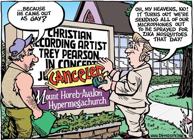 Editorial Cartoon • 06.10.16