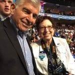 Michael Dukakis and Barbara Rosenberg