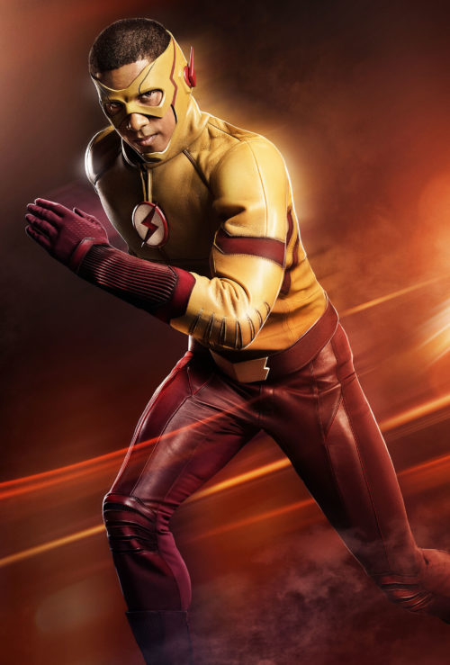 New costume reveal for Kid Flash