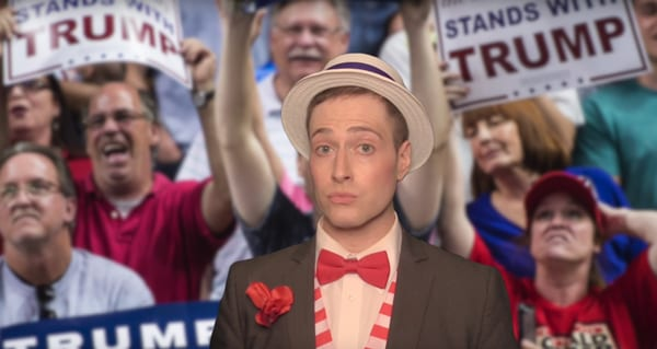 Randy Rainbow's musical take on the TP ticket
