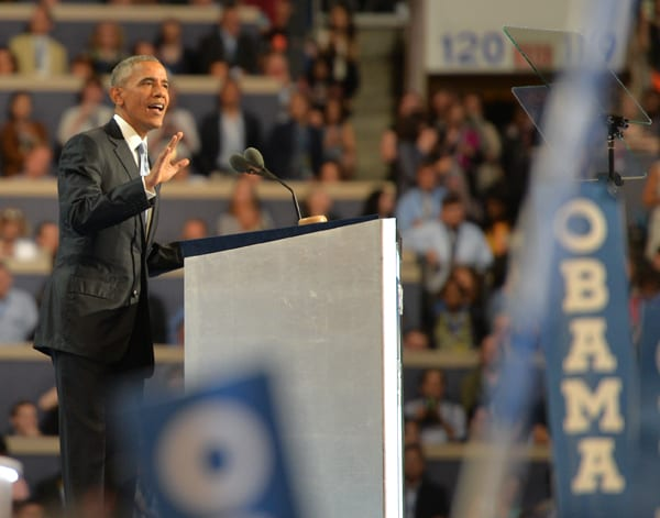 President Barack Obama's speech to the Democratic National Convention