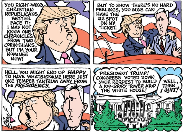Editorial Cartoon • 07.22.16