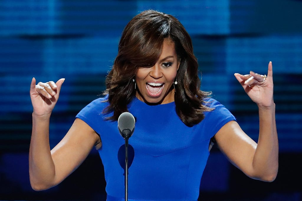 How good was Michelle Obama's speech last night?