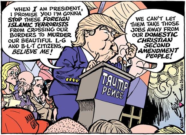 Editorial Cartoon • 08.26.16
